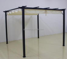 3X3M Aluminum Pergola with Smooth Pulling Systerm