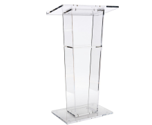 BOK122 Easy Assembly Acrylic Podium for Floor