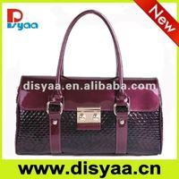 2012 Latest fashion designer leather handbag