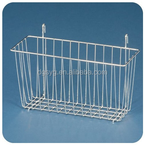 Stainless Steel Wire Basket Fit For Stainless Steel Shelf
