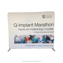 Convenient Trade Show Tension Fabric Tube Display
