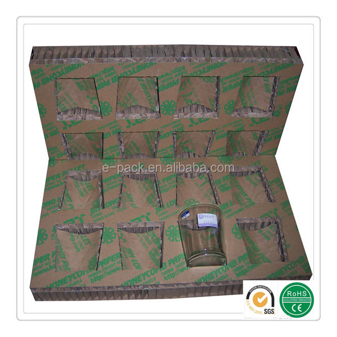 Replacement of foam honeycomb paper panel for Mixing Glbumm packaging