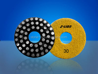 "4"" Metal Bond Vitrified Diamond Polishing/Grinding Pads"