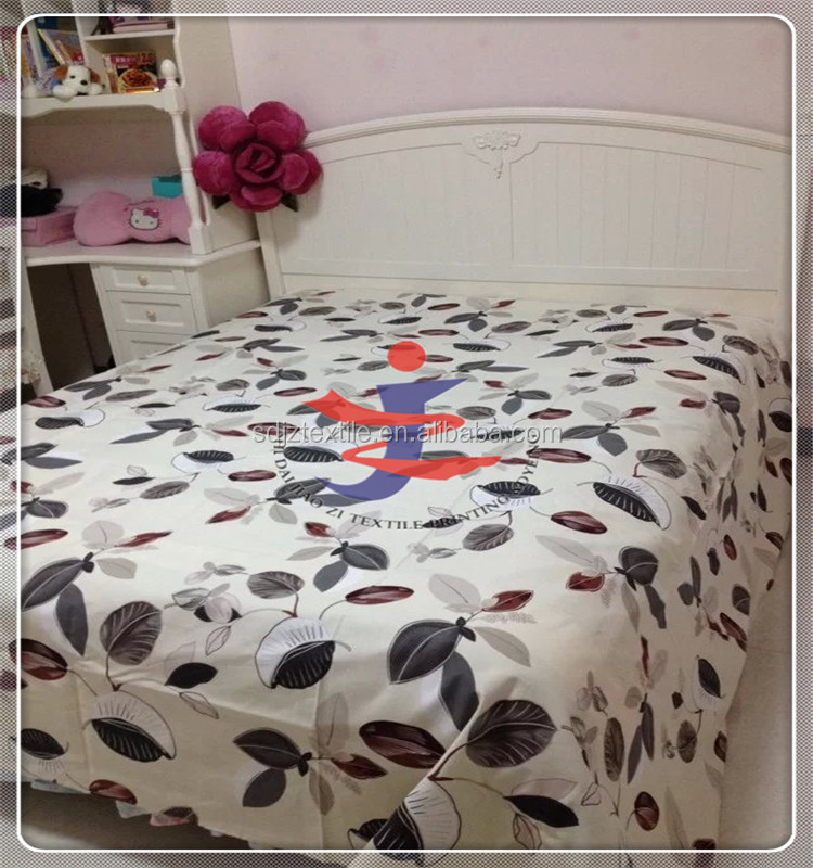cheap high quality soft bedding cover wholesale cotton percale sheeting fabric