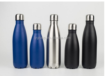 Popular double wall Stainless Steel Insulated Water Bottle Best Sports, Vacuum Keeps Drink Won't Leak or Sweat