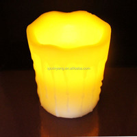 flickering flame led wax candles safe clean long-burning economical liquid led wax candles