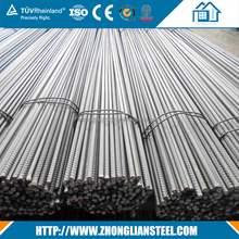 Factory suply ASTM A706 6mm 14mm hot rolled deformed steel bars