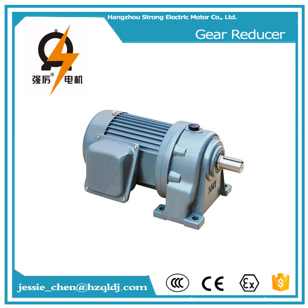 220V three phase 2 hp 1.5 kw asynchronous electric motor reducer