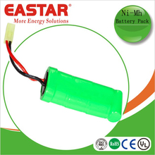 AAA 9.6v 650mah nimh rechargeable battery pack for lamp and tools