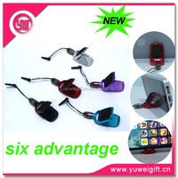 Full new cell phone dust plug charm with 6 advantages
