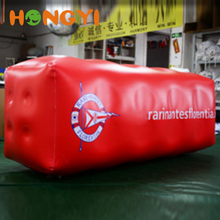 Giant 2m inflatable cuboid rectangle buoy new design lazy sofa many color and size to choose