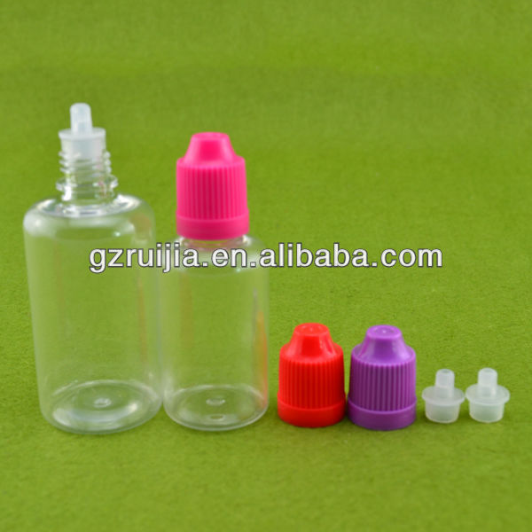 Clear plastic vials 50ml empty PET drop bottle pet bottle supplier