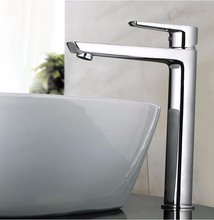 Brass Bathroom Sink Faucet Cascade