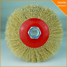 pegatec polishing tools abrasive tools wire brush twisted knot cup brush