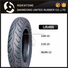 Cheap and high quality china ridestone 3.00-10 3.50-10 motorcycle tyre 90/90-12 motorcycle tire