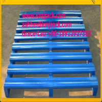 metal pallet, steel pallet/heavy duty pallet/Iron logistic pallet