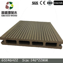 Hollow wpc Decking/WPC decking form China