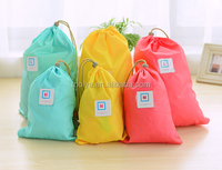 New Arrival set 2pcs Colorful traveling storage bag