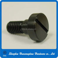 Stainless Steel Saw Slotted Fillister Head Micro Machine Screw