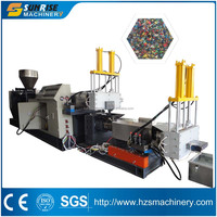 PE Flakes Pellet Making Machine