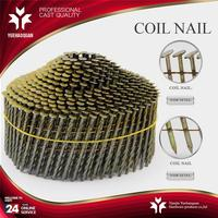 New design cherry blossom roofing coil nails stainless steel thread rolling billet nail with high quality