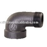 90 degree Elbow malleable iron pipe fitting