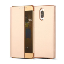 Newest smart mirror leather phone case cover for Huawei mate9 pro,for mate10 pro,PU leather case for mate 10