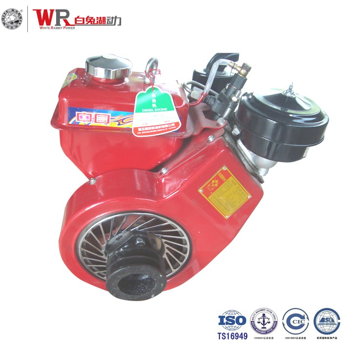 Chang zhou Air cooled diesel engine 160F for small tractors and trucks