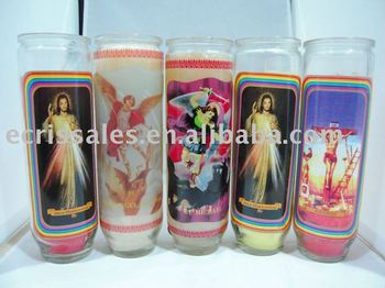 ali express 9 day candle church candle religious candle