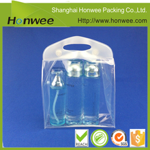 2016 new biodegradable cosmetic packaging clear PVC pouch/PVC garment bag