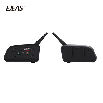 5 Riders 1200m Full Duplex Talking Bluetooth Interphone Radio Communication Intercom For Driver