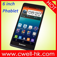 Lenovo A889 MTK6582 Quad Core Android 4.2 1GB RAM 8GB ROM 8.0MP Camera WIFI GPS 6 inch Big Screen Dual Sim Mobile Phones