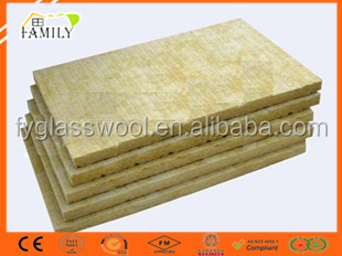 Roofing materials external insulation mineral fiber board for Mineral wool board insulation price
