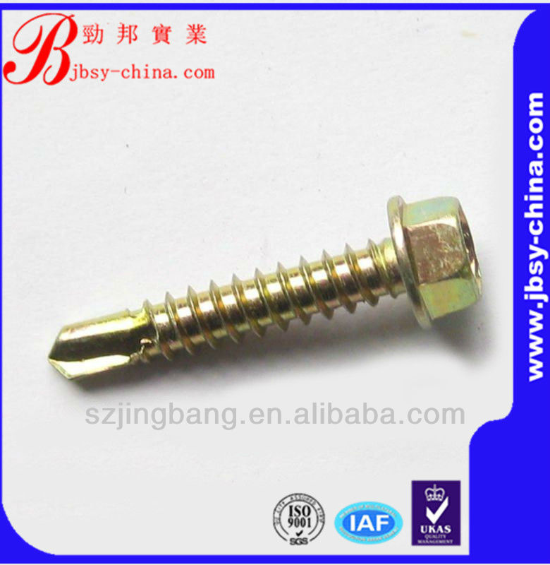 stainless steel tek/self drilling roof screws