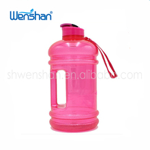 WS-344 Easy carrying gym shaker water bottle fitness water jug 2.2l