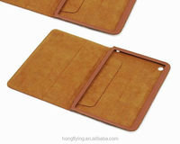 genuine leather Shock-proof frame cover for iPad mini OEM manufacturer