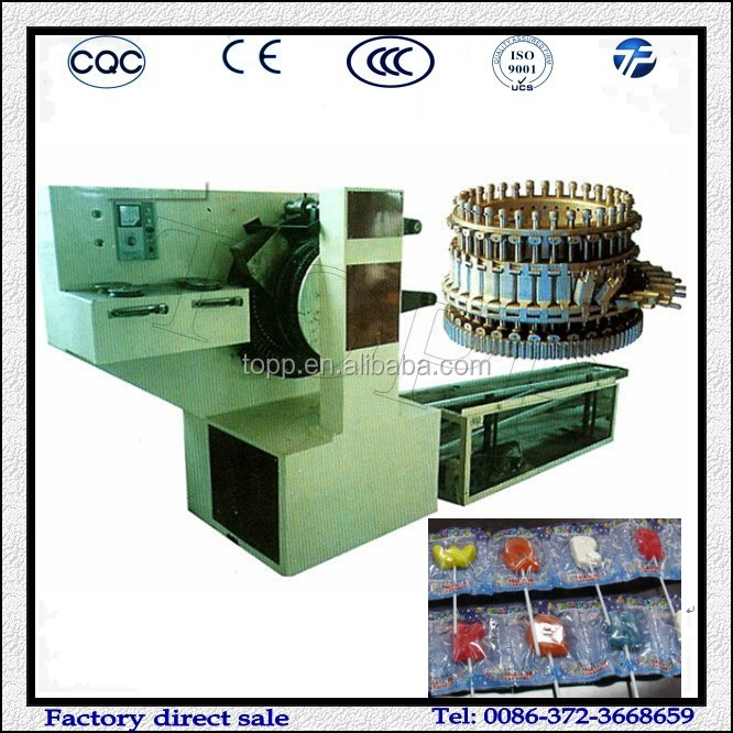 Multifunctional Flat Shape Lollipop Making Machine