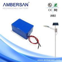 Solar LED Street Lighting Lithium Battery Pack 12V 10Ah 20Ah 40Ah 50Ah 100Ah 30W 40W 50W