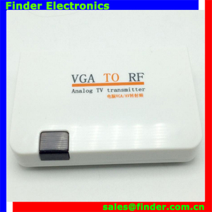 factory price with high quality new model VGA to RF modulator wireless/TV broadcasting equipment