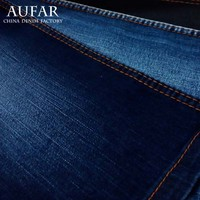 3533B24 wholesaler cotton polyester spandex stretch denim fabric