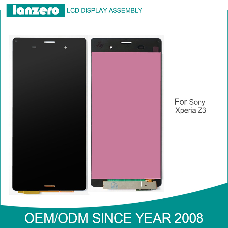 Full Test LCD Assembly for Sony Xperia Z3 Digitizer with Replacement LCD Screen for Sony z3