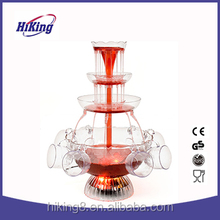 Electric 3 tiers party cocktail wine drinking fountain