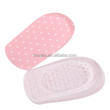 Comfy Unisex Women Men Silicone Gel Lift Height Increase Shoe Insoles Heel Insert Pad