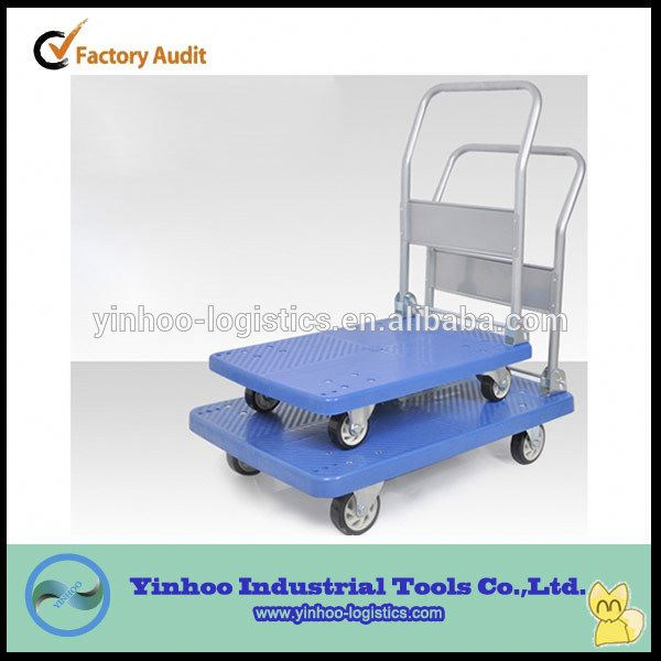 Multi-purpose Folding Transport Steel platform hand trolley Made in China