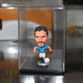 "Acrylic Sports Doll and Toy Figurine Display Box Acrylic 9.50"" Single Bobblehead Display Case"