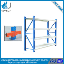 High accuracy collapsible medium duty storage rack