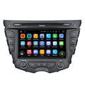 Great Bluetooth excellent sound car radio support DAB+ and WAZE map android 7.1.2 for Veloster 2011-2013
