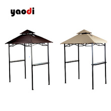 CPAI-84 fire retardant &waterproof oxford pu coating fabric for BBQ Canopy
