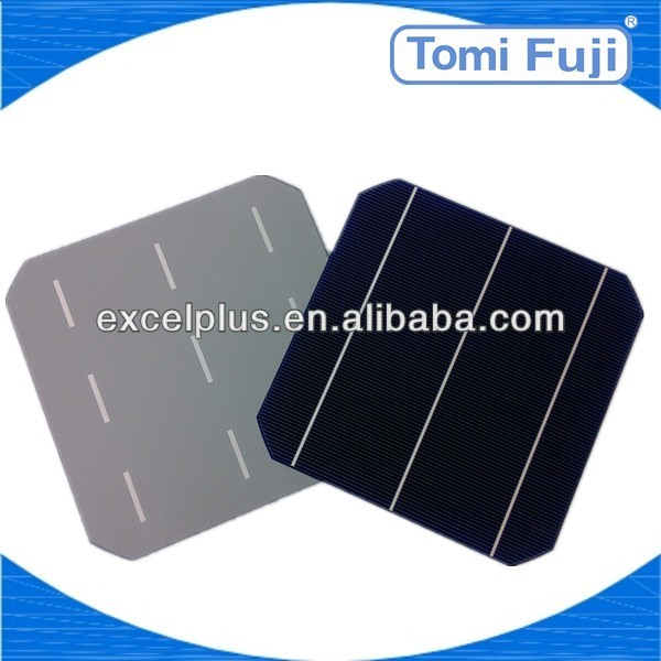 2013 A grade/ B grade cheap price Photovoltaic solar cell 156X156mm mono solar panel, solar lighting system low price