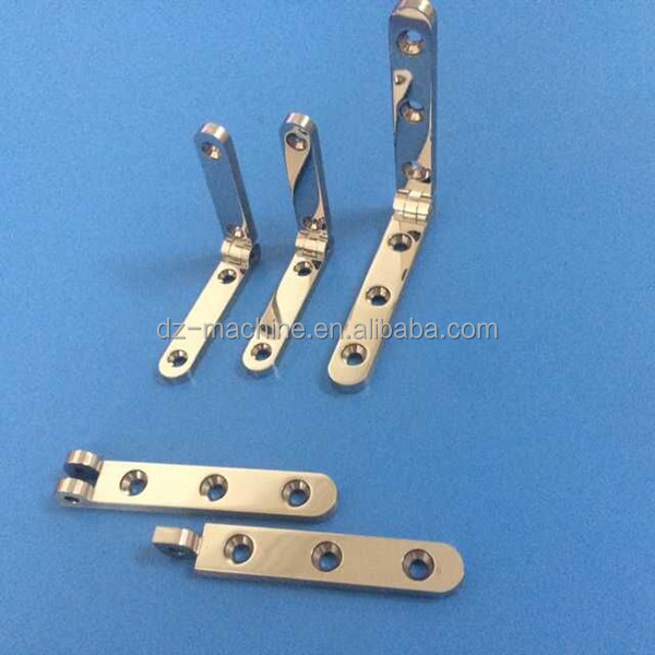 Polishing stainless steel jewelry box hinge